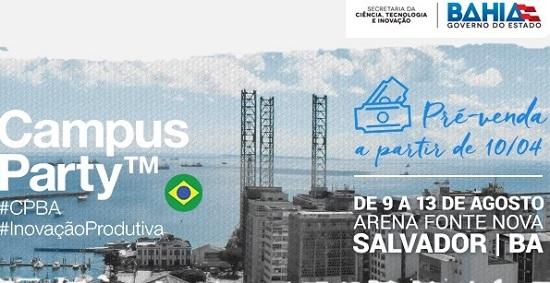 Campus Party Bahia abre inscrições para voluntários
