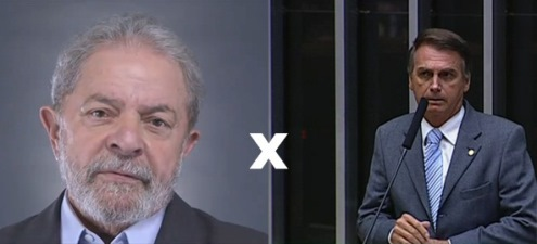 DISPUTA PRESIDENCIAL SERIA DUELO ENTRE LULA E BOLSONARO