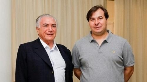 Rodrigo Maia deu o primeiro passo para adiar as eleições de 2018
