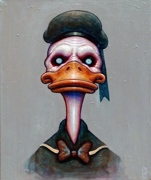 O pato carniceiro mete seu bico na Nação ferida
