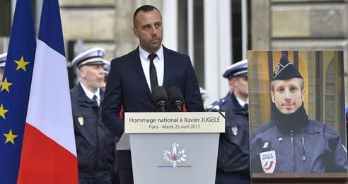 França celebra casamento póstumo entre soldado morto em atentado e seu namorado