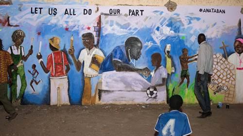 Hip hop, poesia e pichações contra a guerra no Sudão do Sul