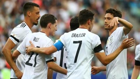 Jovem seleção da Alemanha passa no primeiro teste e vence a Austrália