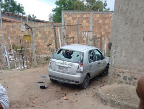 Preso acusado de participar de apedrejamento e incêndio de automóvel da fiscalização ao transporte clandestino