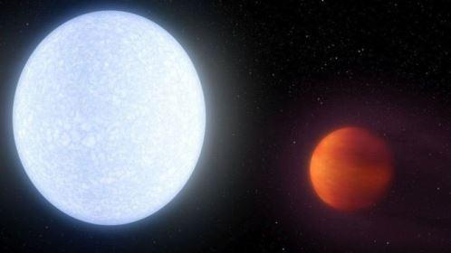 Astrônomos descobrem planeta quase tão quente quanto o Sol