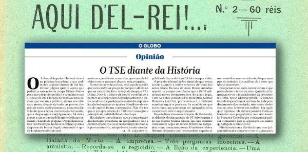 Globo dá ultimato ao TSE: julgue já!