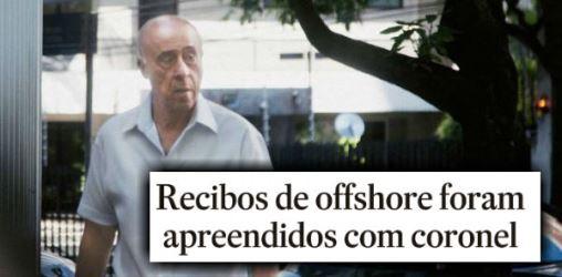 Coronel de Temer tinha recibo de 'offshore' em endereço do 'Panamá Papers'