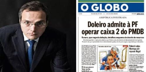 Funaro é a bomba da vez, dizem O Globo e Veja