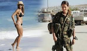 A ex-modelo canadense que largou tudo para combater o Estado Islâmico na Síria