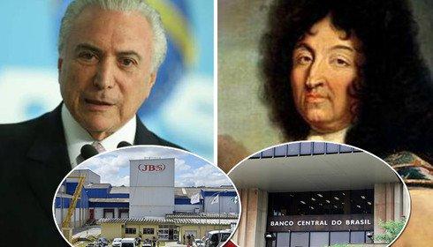 Temer se vê como Luis XIV: o Estado sou eu