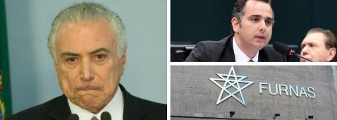 TEMER TENTA COMPRAR APOIO NA CCJ COM PRESIDÊNCIA DE FURNAS