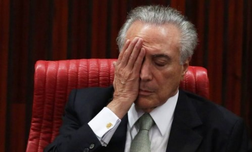 MICHEL TEMER É CORRUPTO CONCLUI PF