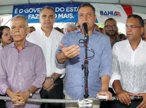 RUI INAUGURA ESTRADA QUE BENEFICIA 117 MIL PESSOAS NO BAIXO SUL