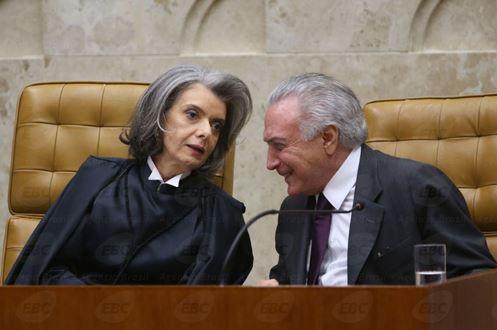 STF ENVIA DENÚNCIA CONTRA TEMER À CÂMARA