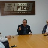 Prefeito José Ronaldo solicita na FIEB,melhorias para a indústria feirense