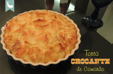 Torta Crocante de Camarão
