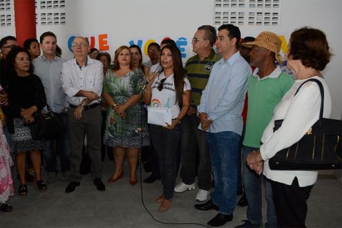 Prefeitura inaugura escola para atender crianças em tempo integral no bairro Campo Limpo