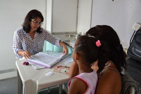 1600 atendimentos no primeiro semestre no projeto Saúde na Escola