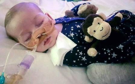 Pais vão discutir com hospital desligamento de máquinas que mantêm bebê vivo