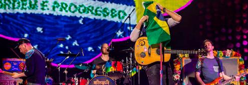 Coldplay anuncia dois shows no Brasil em novembro