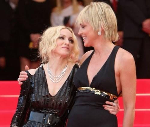 Sharon Stone perdoa Madonna após vazamento de carta da popstar a chamando de medíocre