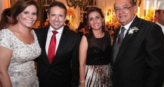0 que Gilmar Mendes fazia no casamento da filha de Jacob Barata preso pela PF