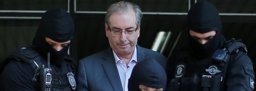 Cunha entrega anexos de delação à PGR