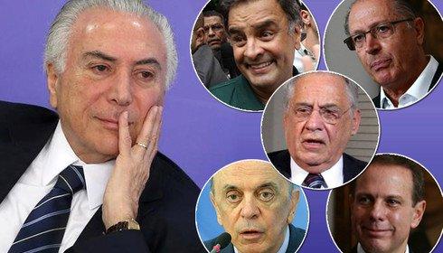 PSDB: preço do apoio ao golpe é o racha