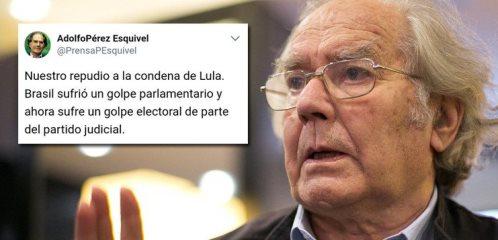 NOBEL DA PAZ CONDENA GOLPE JUDICIAL CONTRA A DEMOCRACIA BRASILEIRA
