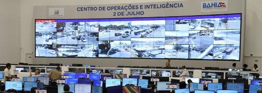 CENTRO DE OPERAÇÕES REDUZ TEMPO DE RESPOSTA POLICIAL