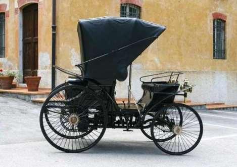 Primeiro 'carro' da Itália, Peugeot Tipo 3 volta a circular
