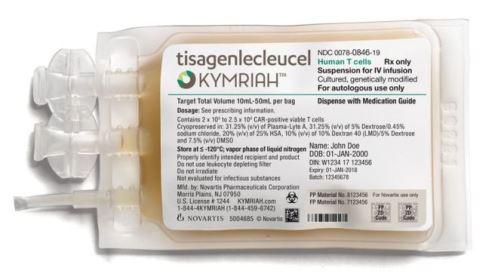 EUA aprovam 'droga viva', 1ª terapia contra câncer que reestrutura sistema imunológico do paciente