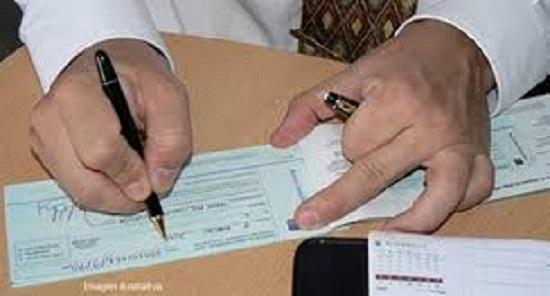 Condições para recusa de cheques como meio de pagamento