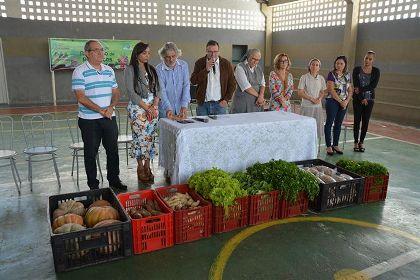Cidadãos em vulnerabilidade serão beneficiados por alimentos da agricultura familiar