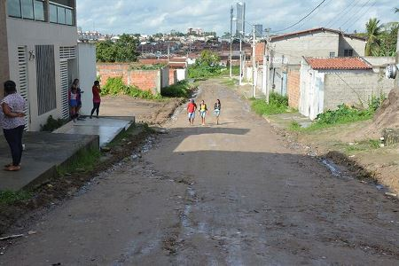 Ruas do bairro da Mangabeira serão pavimentadas