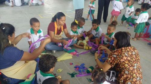 Escola resgata tradições em projeto cultural