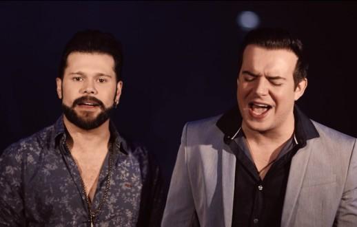 Dupla Marcos & Belutti lança clipe com participação de Lucas Veloso