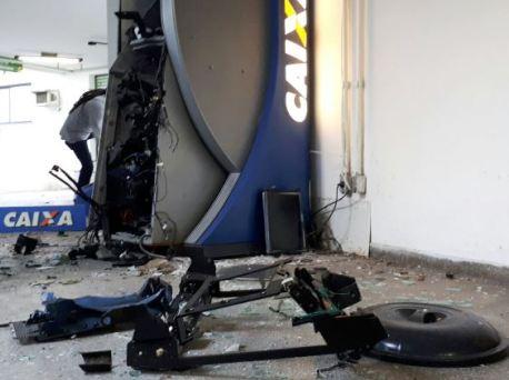 Balanço da SSP contabiliza 61 explosões de caixas eletrônicos na Bahia em 2017