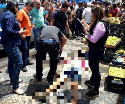 Vendedor ambulante é assassinado no centro de Feira