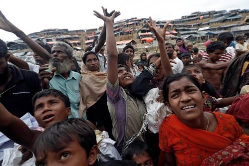 Tragédia rohingya: É necessário parar a limpeza étnica que o Exército de Myanmar está realizando