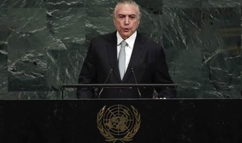 "Temer na ONU: ""O desmatamento nos preocupa, especialmente na Amazônia"""