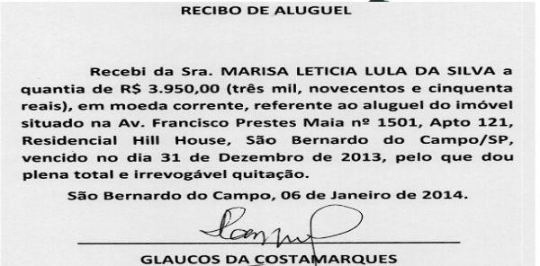"""No Brasil do """"prove que é inocente"""", Lula entrega recibos do aluguel"""