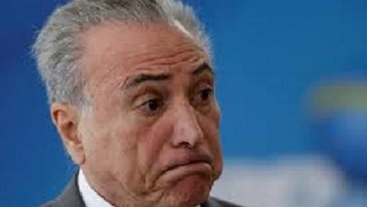 PESQUISA DA FOLHA AFIRMA QUE 89% DEFENDEM AFASTAMENTO DE TEMER