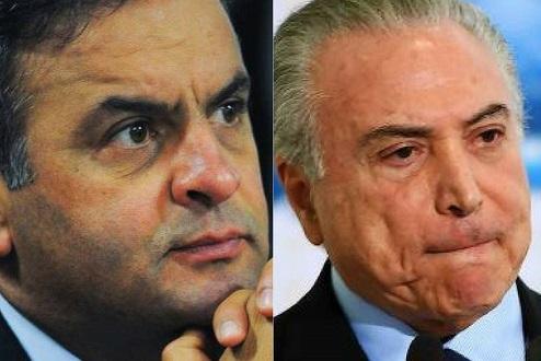 A impunidade de Temer e Aécio é a cara do Brasil pós-golpe