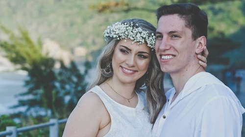 Jakson Follmann e Andressa Perkovski se casam na próxima sexta