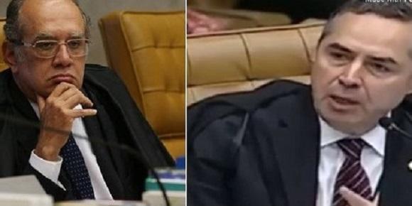 Barroso e Gilmar Mendes promovem barraco no STF e trocam duras acusações