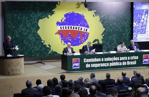 Ministro do STF defende investimento em tecnologias e armamento para diminuir criminalidade no Brasil