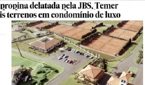 Enquanto Lula aluga um apê, Temer compra imóveis de luxo
