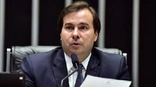 Rodrigo Maia cria comissão para elaborar  anteprojeto de combate ao tráfico de drogas e armas