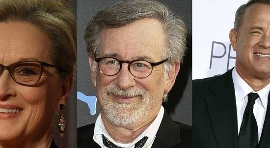 Spielberg vai dirigir Meryl Streep e Hanks em filme sobre política na Guerra do Vietnã